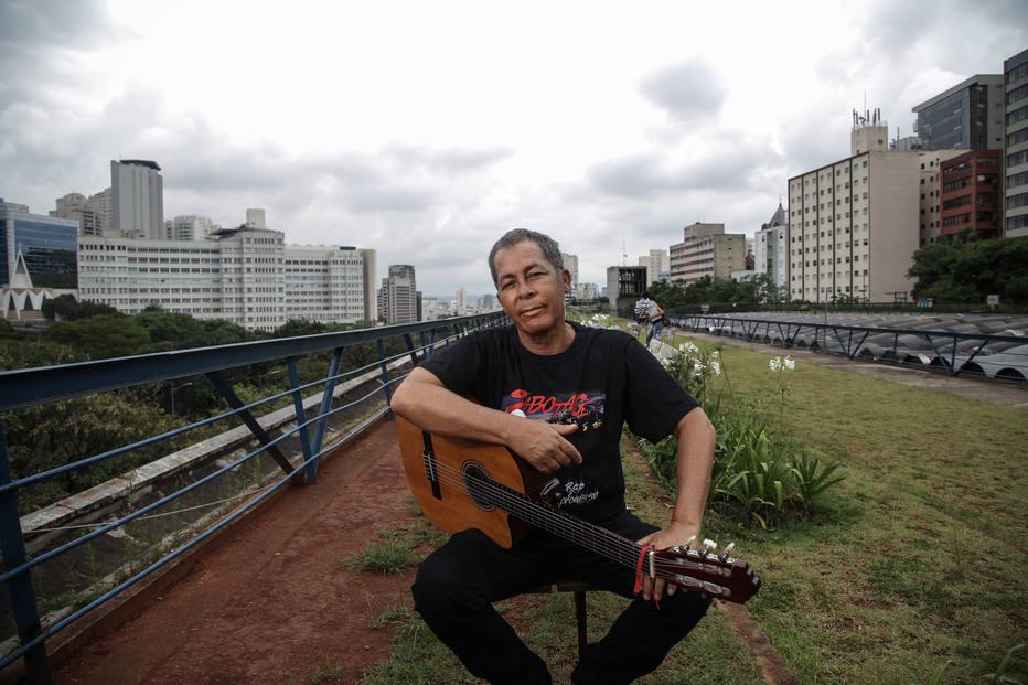 SAO PAULO - SP / 13.12.2016/ HYLDON / CADERNO 2 Hyldon, cantor. FOTO AMANDA PEROBELLI/ESTADAO