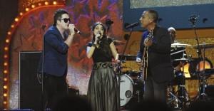 Rogério Flausino, Monique e Hyldon