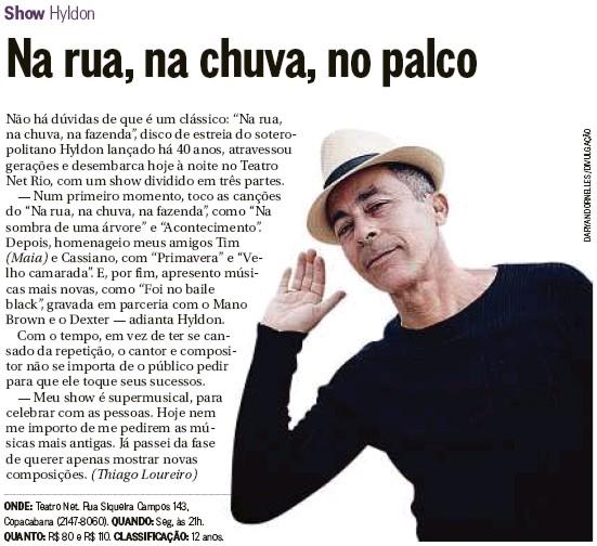 Hyldon - O Globo