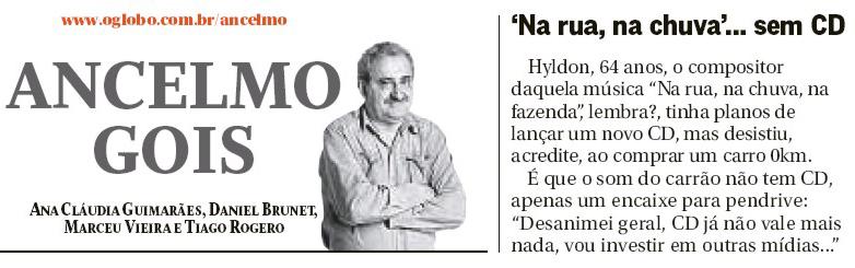 Hyldon no Ancelmo Gois